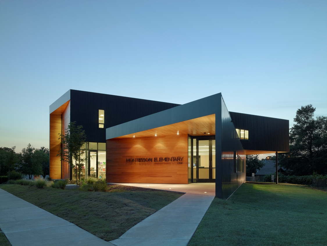 Fayetteville Montessori Elementary School | Marlon Blackwell Architect | Fayetteville, AR (Photo by Timothy Hursley)