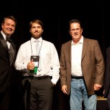 "Architect as Artist Winners - Austin Chatelain, Assoc. AIA for ""We Once Flew"" and  Patrick Matthews for ""Mountain Harmony"""