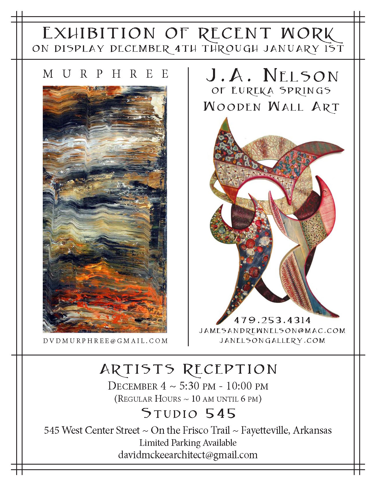 Artists Exhibition and Reception (2)