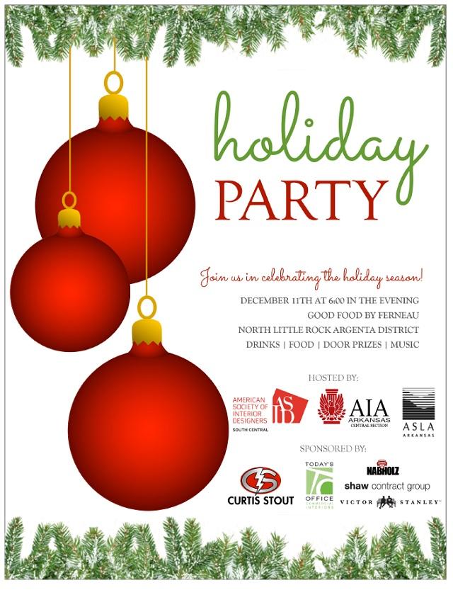 2014 CS Holiday Party Invitation