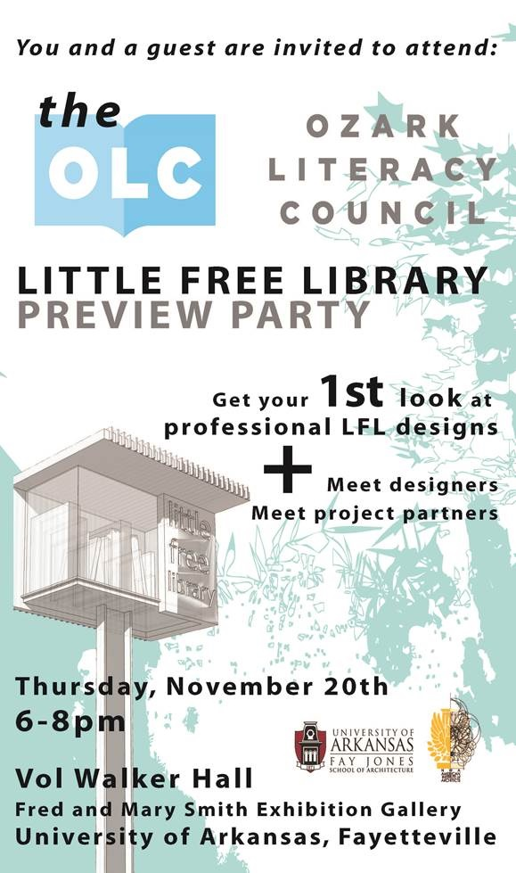 NW – Little Free Library Preview Party