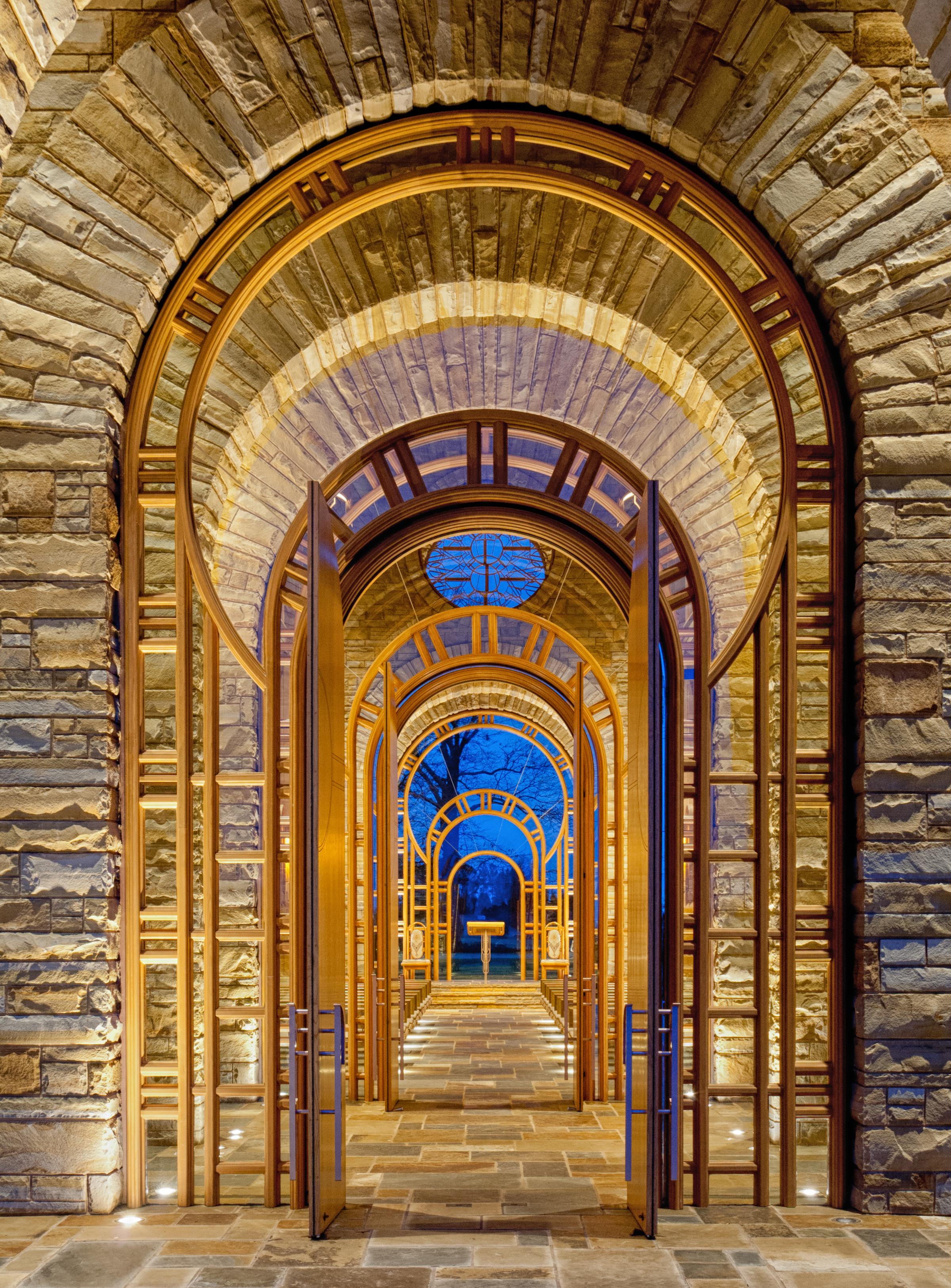 Hunt Chapel | Maurice Jennings + Walter Jennings Architects, PLLC | Rogers, AR (Photographer: Walter Jennings, AIA)