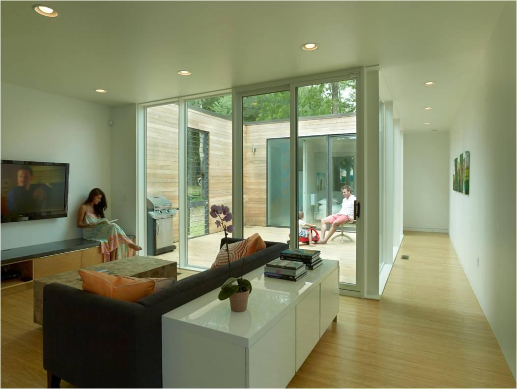 courtyard house | design award winners | aia arkansas
