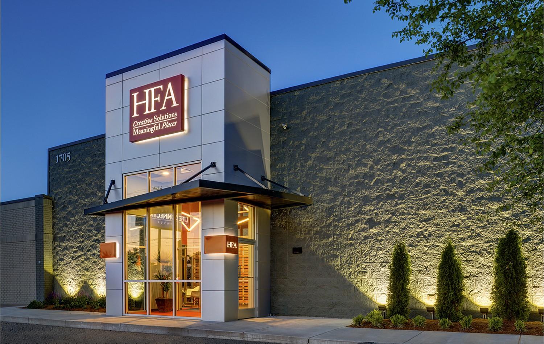 Office Exterior Entry : Hfa headquarters office design award entries aia arkansas