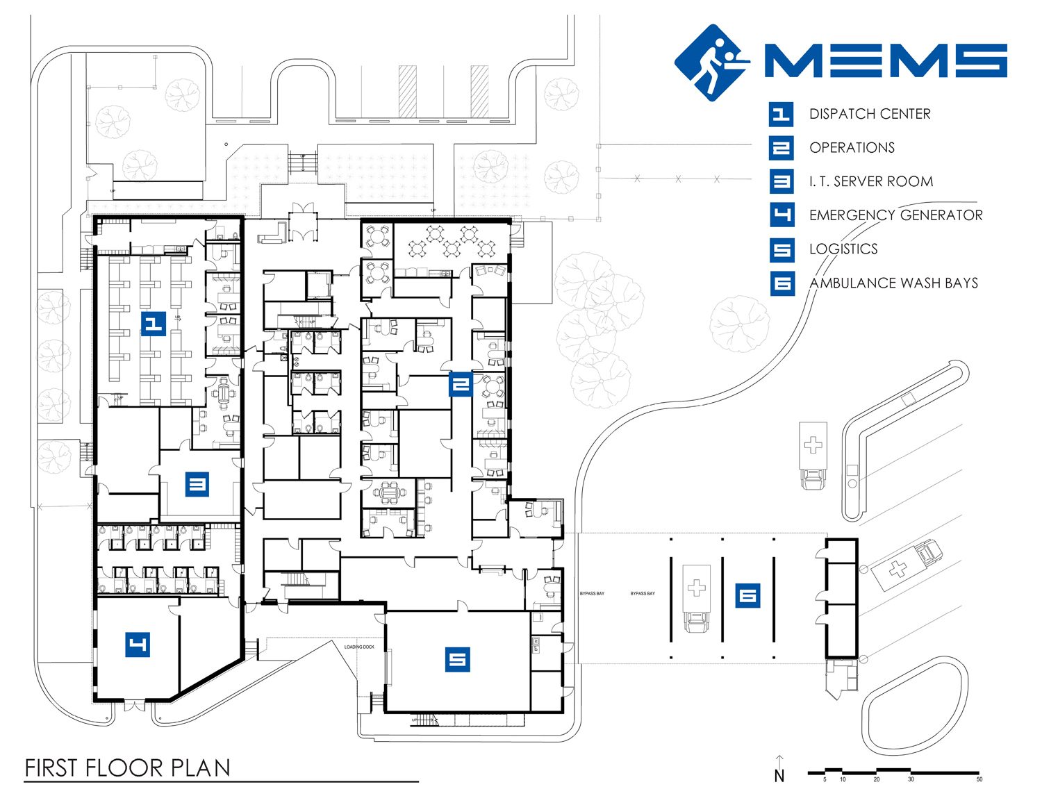 Metropolitan emergency medical services mems for Floor plan services