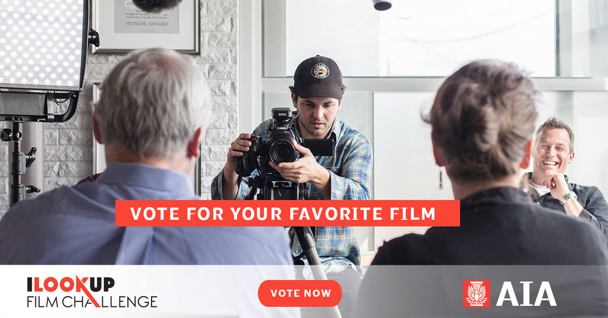 VOTE NOW for AIA's 2017 I Look Up Film Challenge!