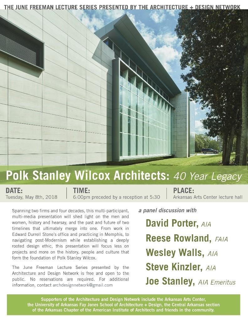 5.8.18 Polk Stanley Wilcox Architects ADN Lecture