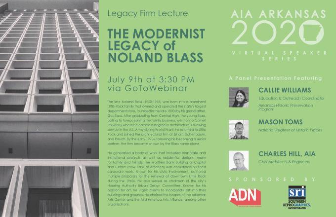 AIAAR Virtual Speaker Series Marketing - BLASS Firm Lecture