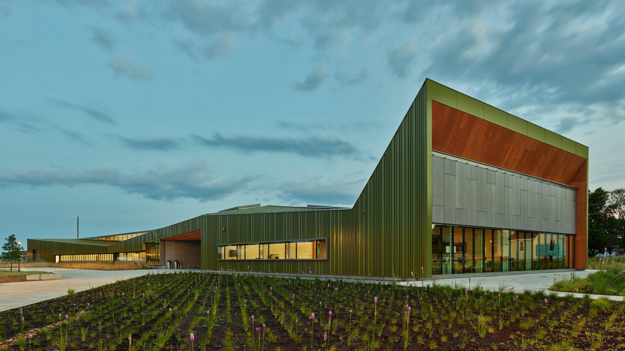 The Thaden School Reels Building