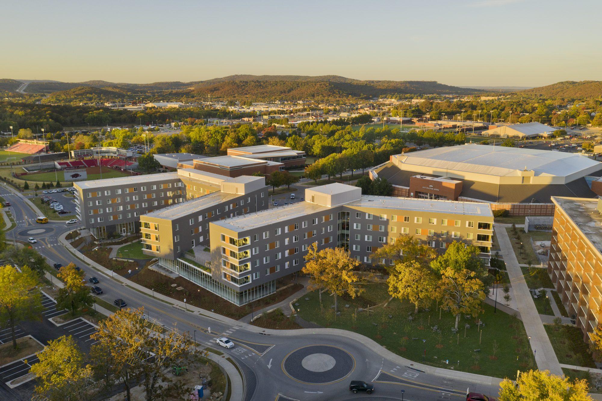 University of Arkansas Adohi Hall